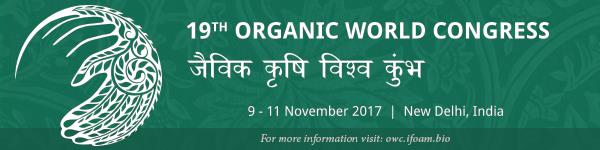 19th organic world congress november 2017