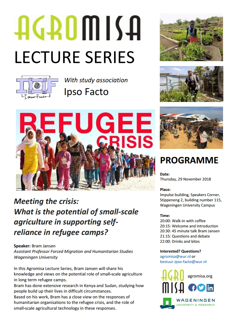 Lecture series: What is the potential of small-scale agriculture in